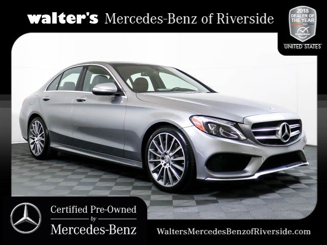 Perfect Pre Owned 2015 Mercedes Benz C Class C 300