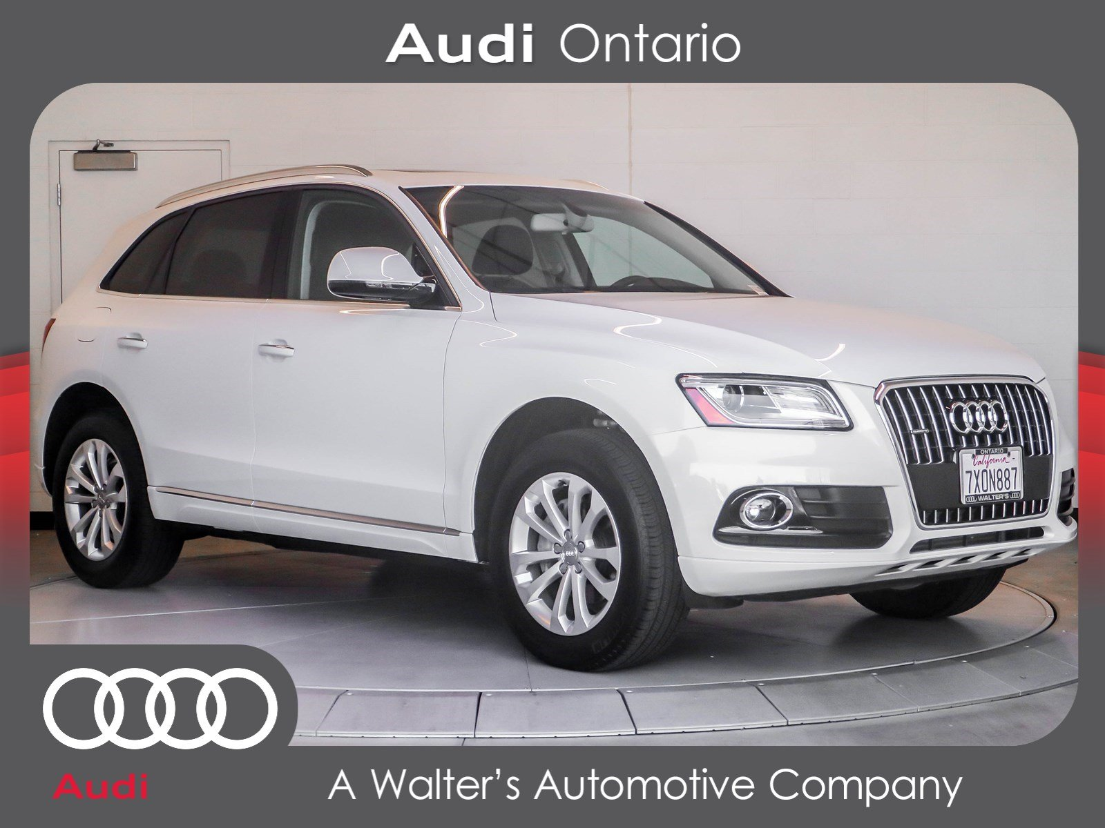 pre owned 2017 audi q5 premium suv in riverside uksl
