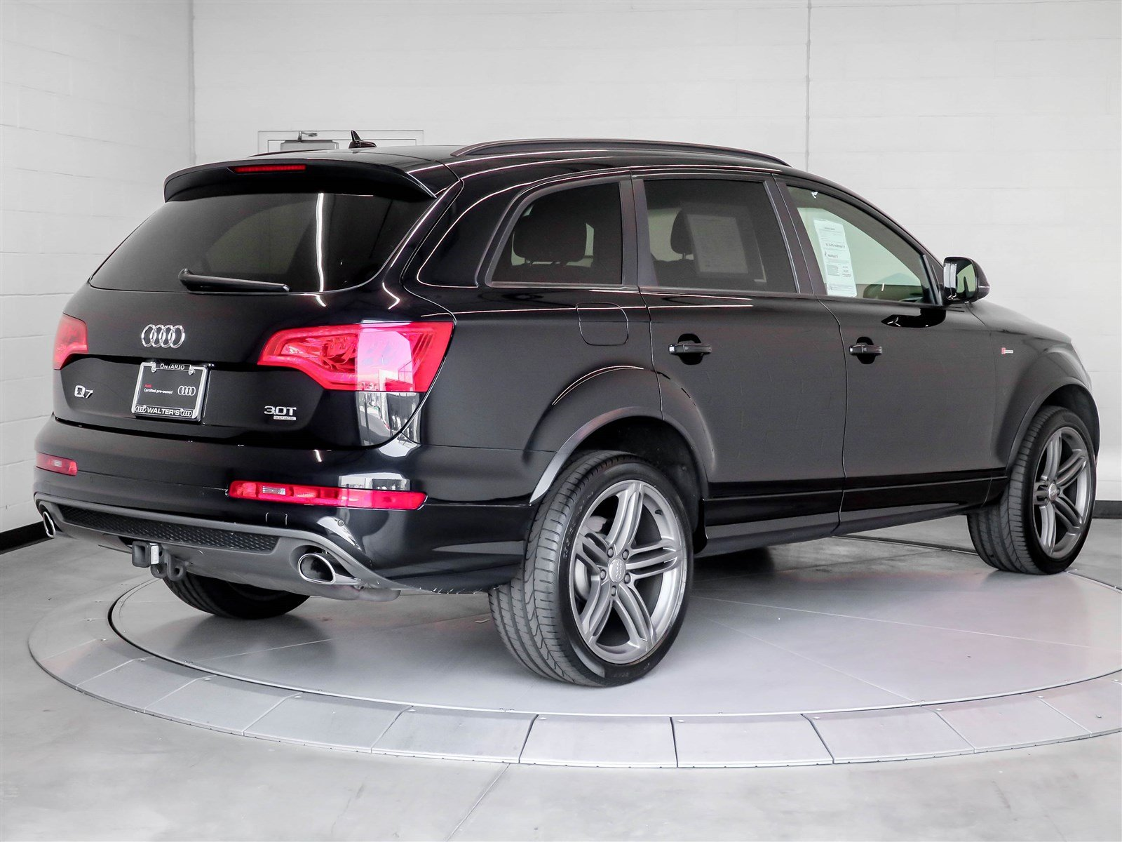pre owned 2014 audi q7 3 0t s line prestige suv in riverside