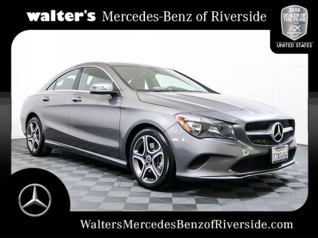 Attractive Pre Owned 2018 Mercedes Benz CLA 250