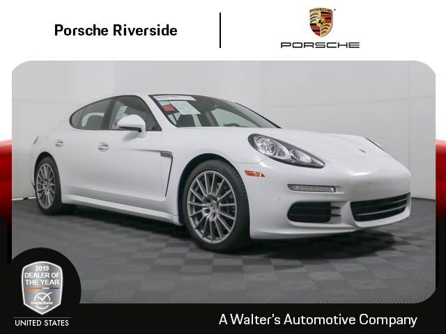 Certified Pre-Owned 2016 Porsche Panamera Edition