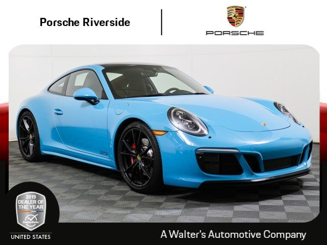 pre-owned 2018 porsche 911 carrera gts coupe in riverside #7571up