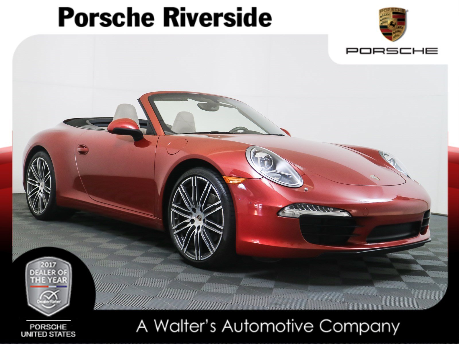 certified pre owned 2014 porsche 911 carrera cabriolet convertible