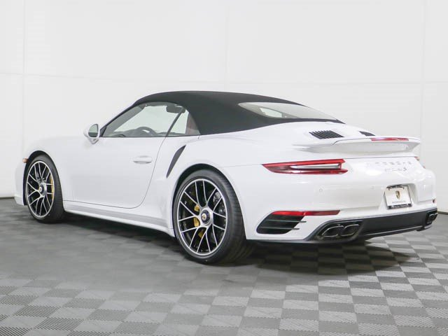 New 2019 Porsche 911 Turbo S Cabriolet