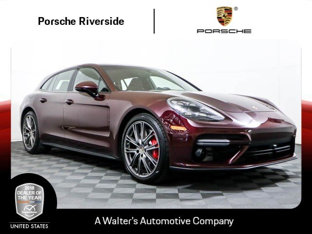 Certified Pre-Owned 2018 Porsche Panamera Turbo Sport Turismo