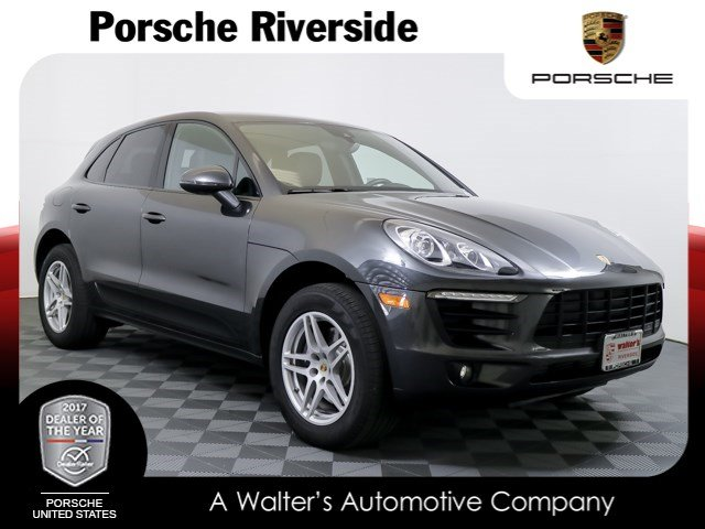 Certified Pre-Owned 2017 Porsche Macan Lease Special