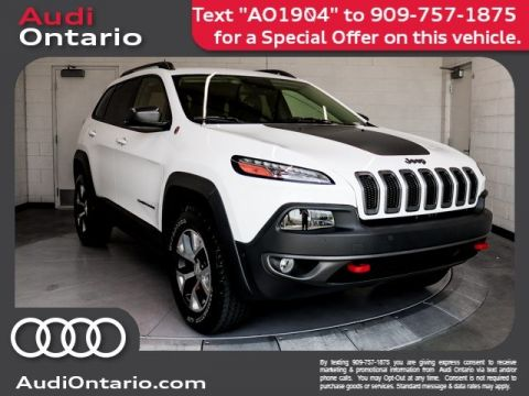Pre-Owned 2017 Jeep Cherokee Trailhawk L Plus