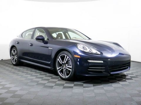 Certified Pre-Owned 2014 Porsche Panamera 4