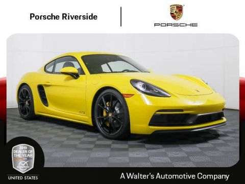 Certified Pre-Owned 2018 Porsche 718 Cayman GTS