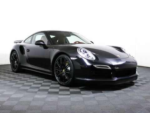 Certified Pre-Owned 2014 Porsche 911 Cpe Turbo