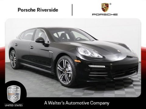 Certified Pre-Owned 2014 Porsche Panamera 4S Executive